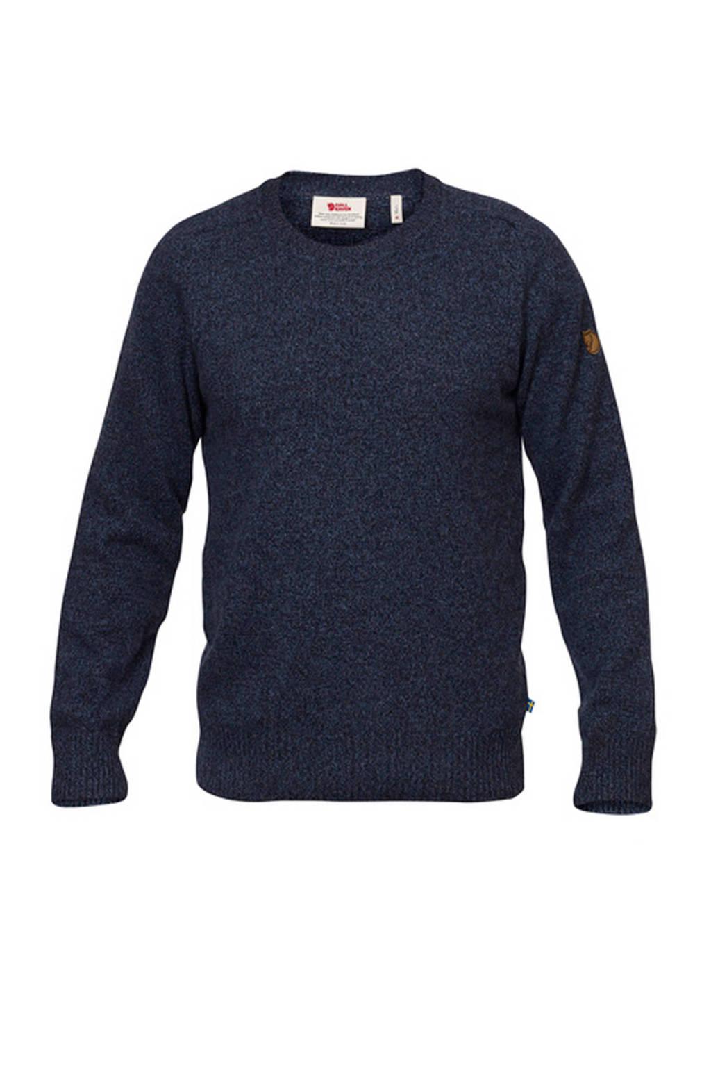 Fjällräven outdoor trui donkerblauw, Dark navy