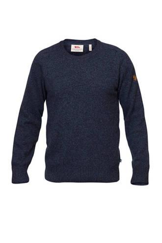 outdoor trui donkerblauw