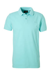 Petrol Industries regular fit polo turquoise, Turquoise