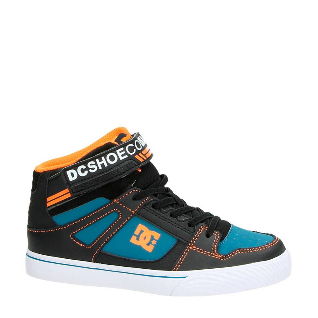 DC  hoge sneaker zwart multi