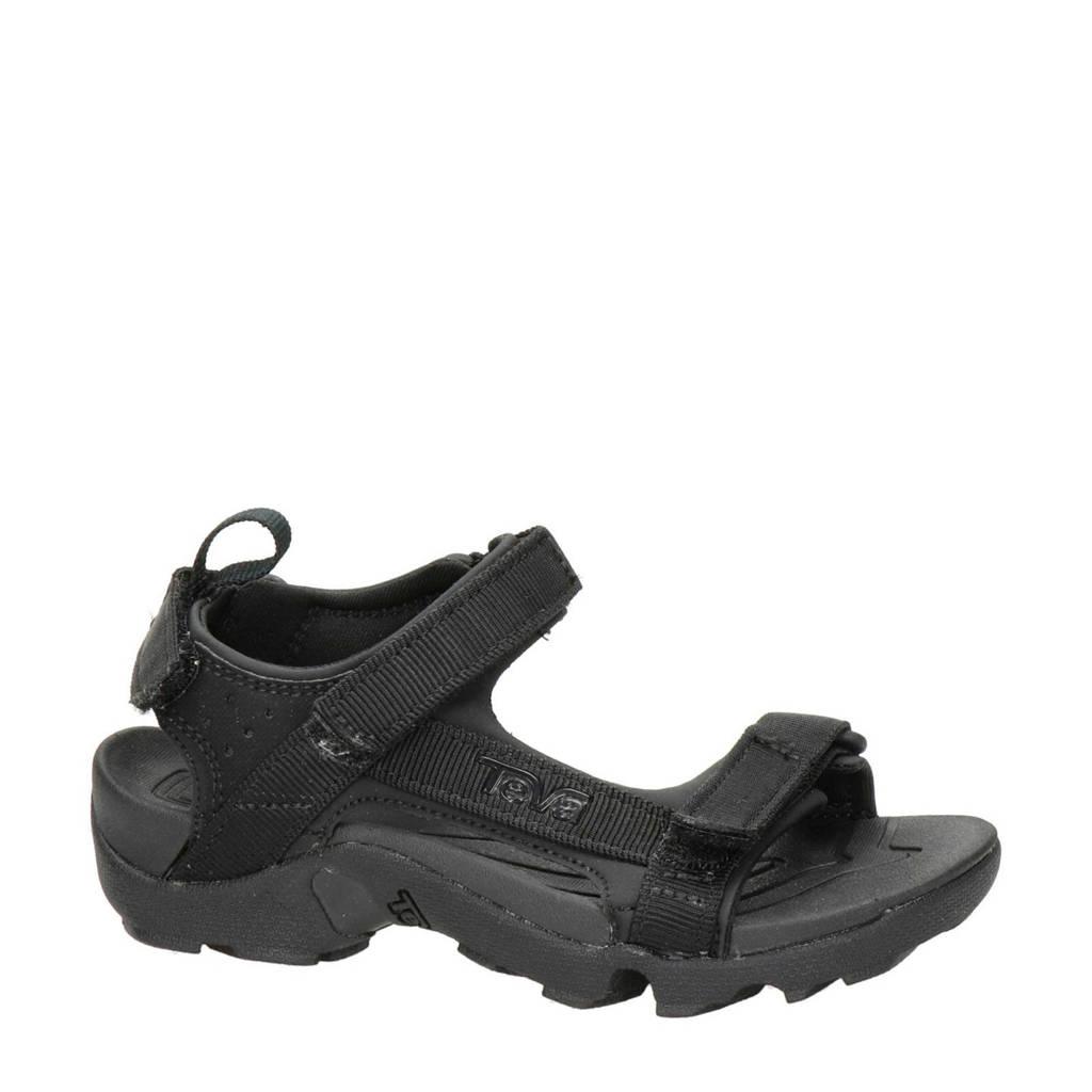 laatste korting schoeisel fabrieksoutlets Teva Tanza sandalen zwart   wehkamp