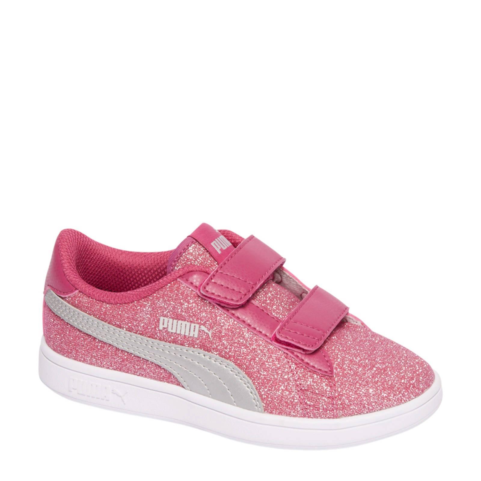 Puma suède sneakers roze (meisjes)