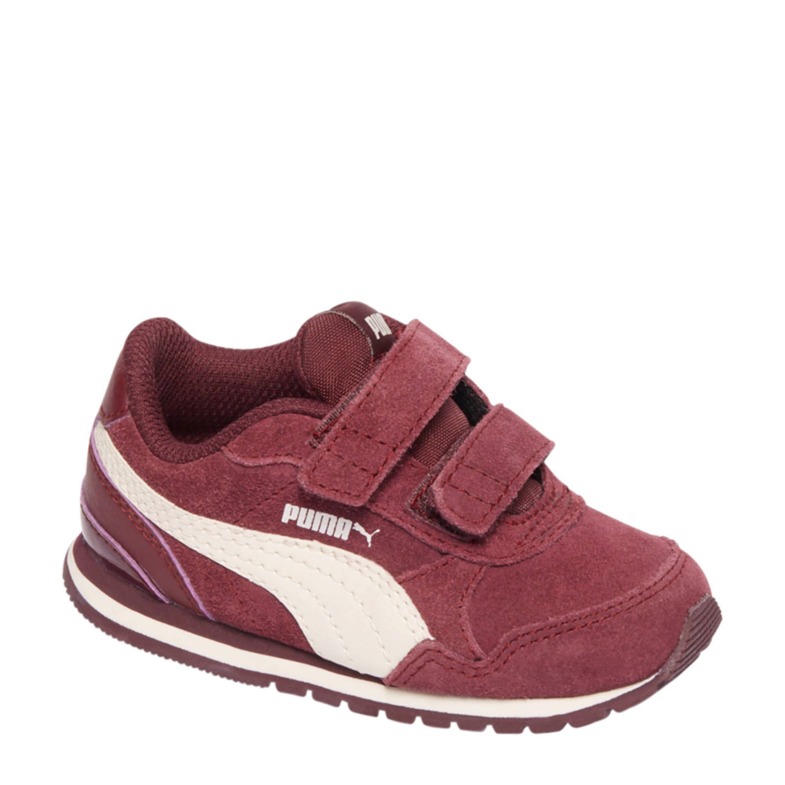 Puma suède sneakers ST Runner bordeaux kids