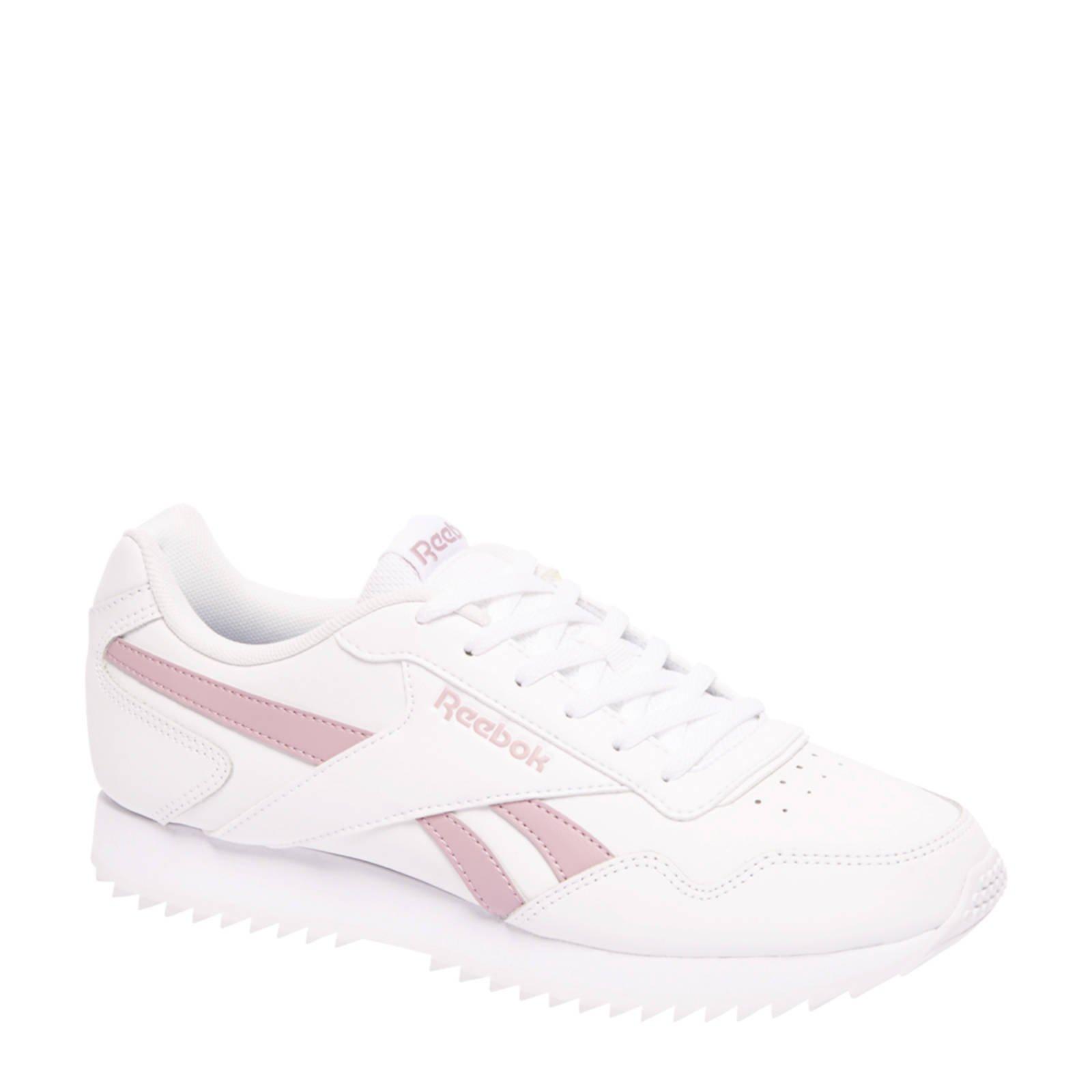 0e4cbf8d22f Reebok Royal Glide syède sneakers wit   wehkamp