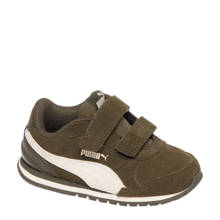 suède sneakers ST Runner kaki kids
