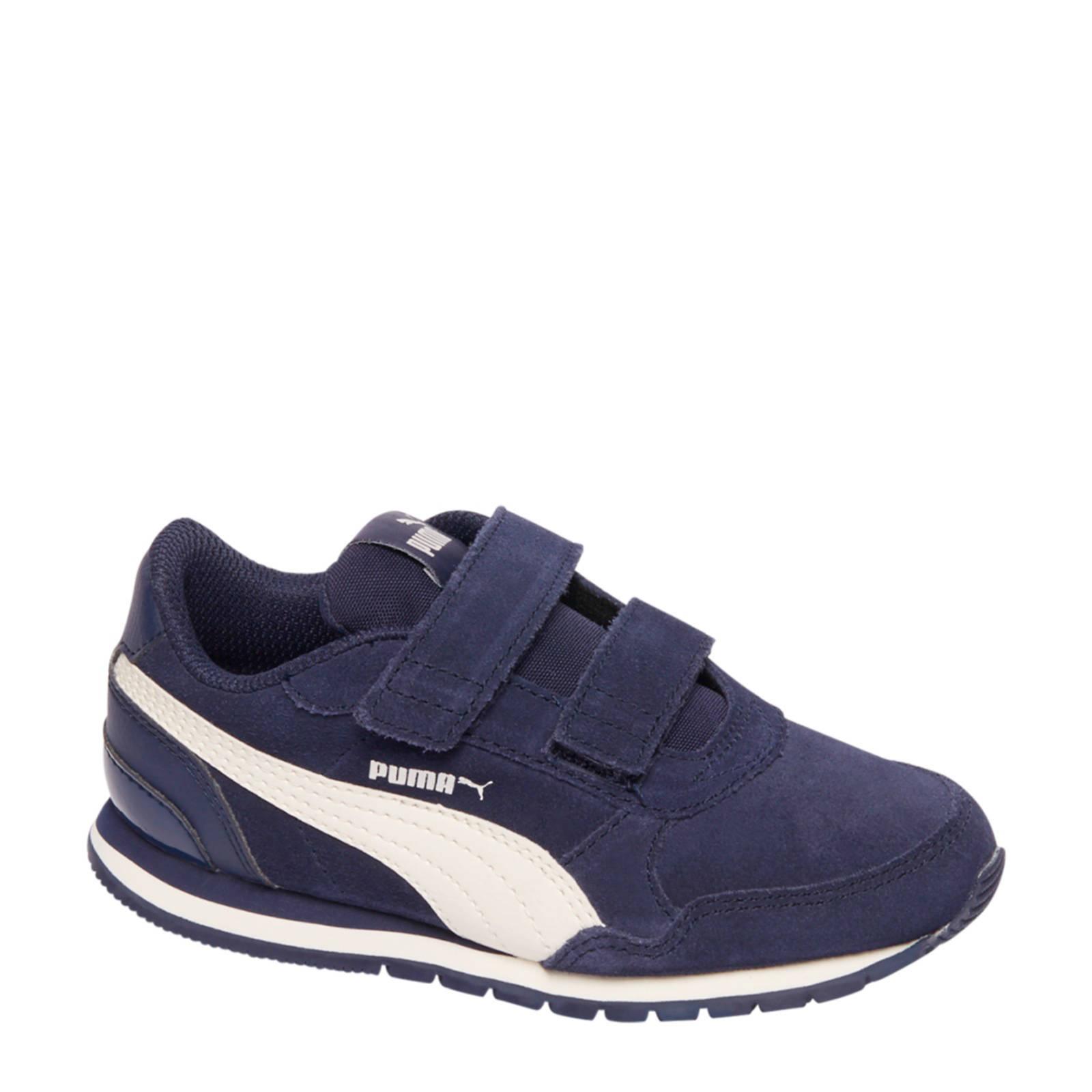 Puma suède sneakers blauw jongens