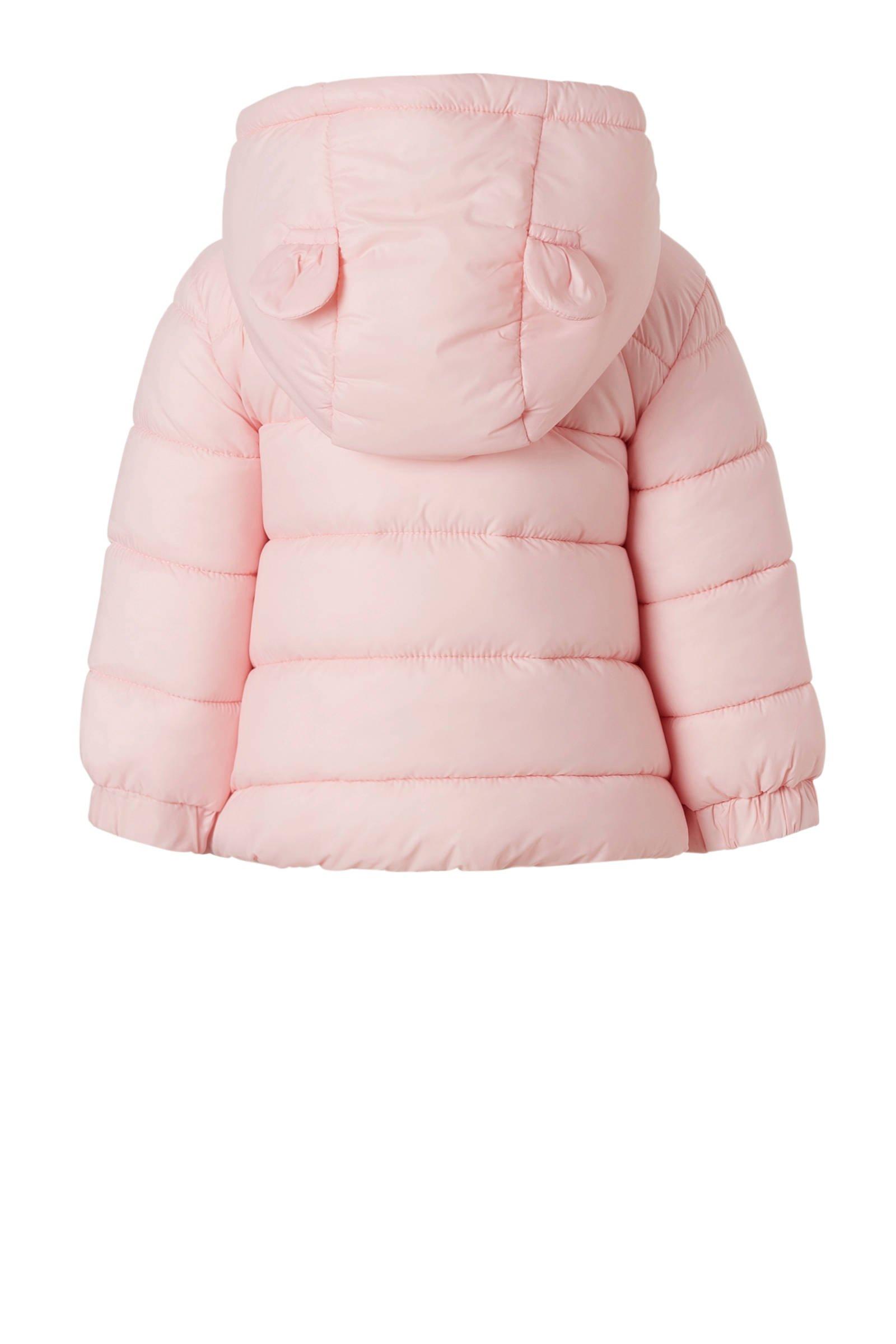 Babykleding Winterjas.C A Baby Club Winterjas Lichtroze Wehkamp