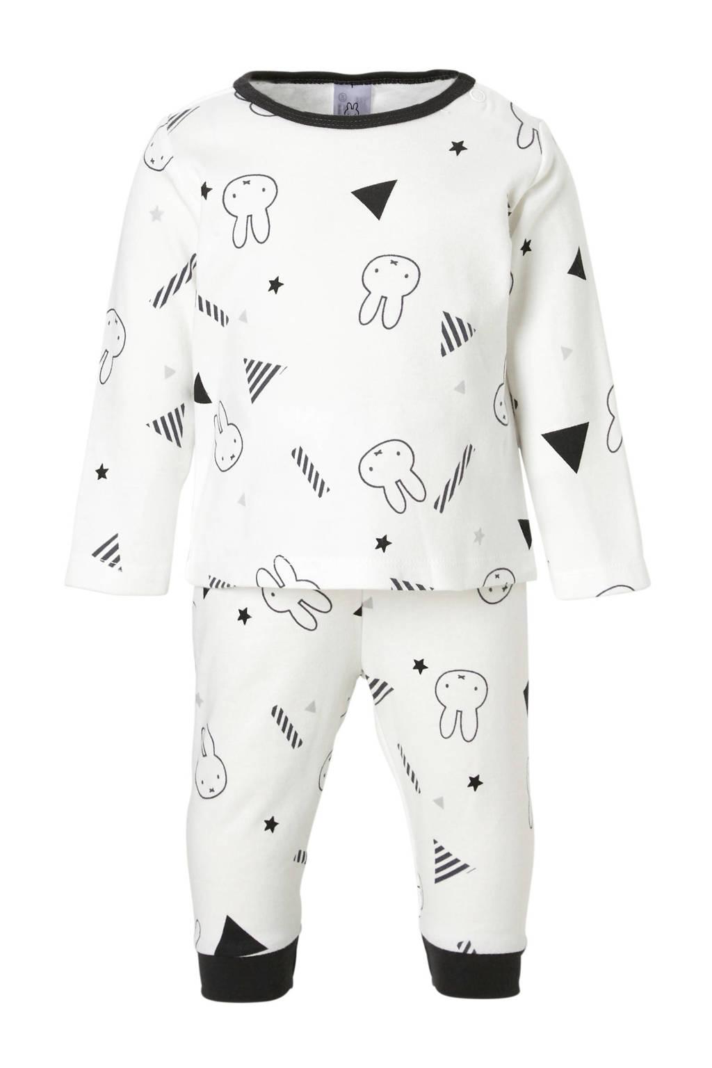 C&A nijntje   pyjama wit, Wit/zwart