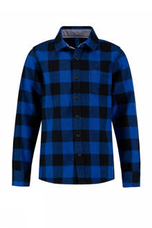 overhemd Yorans met ruitprint