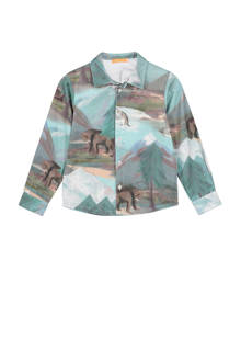 overhemd Olov met all-over print
