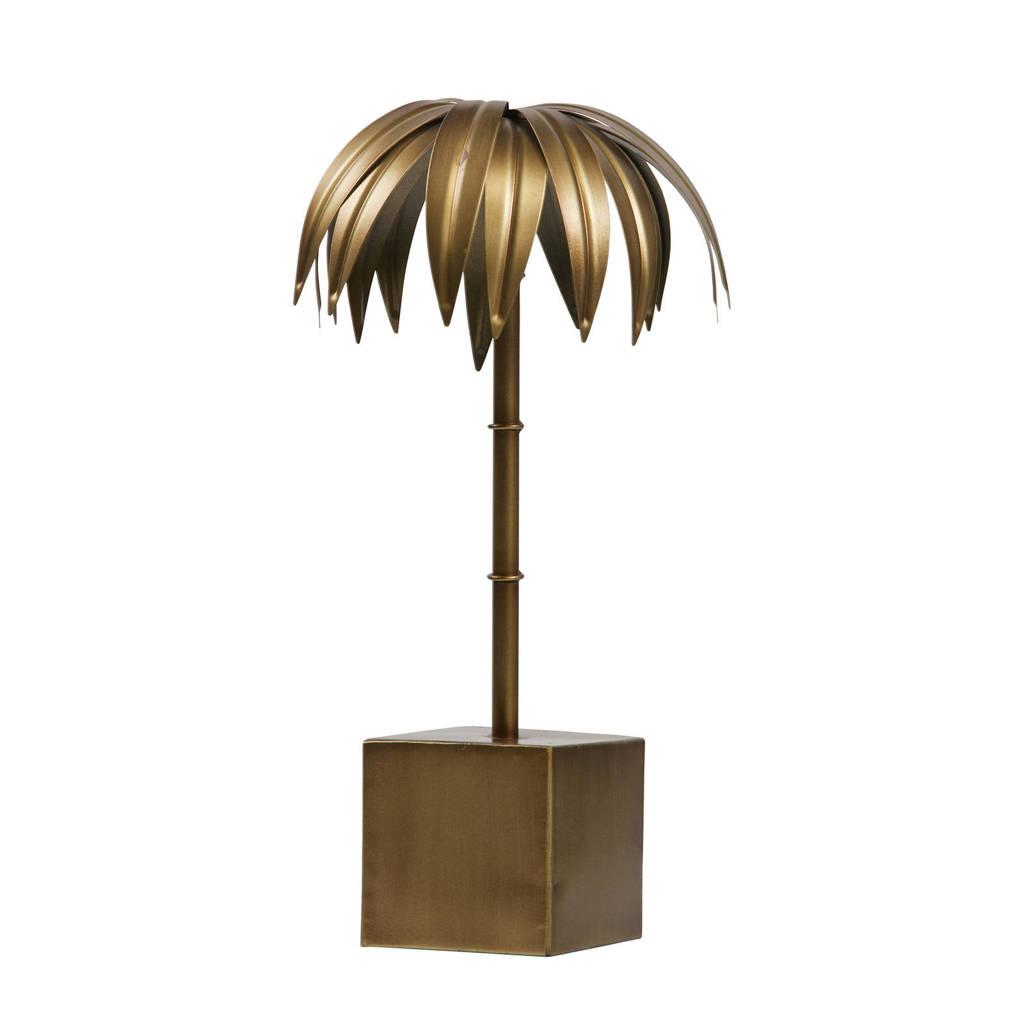 BePureHome metalen palm, Antiek koper