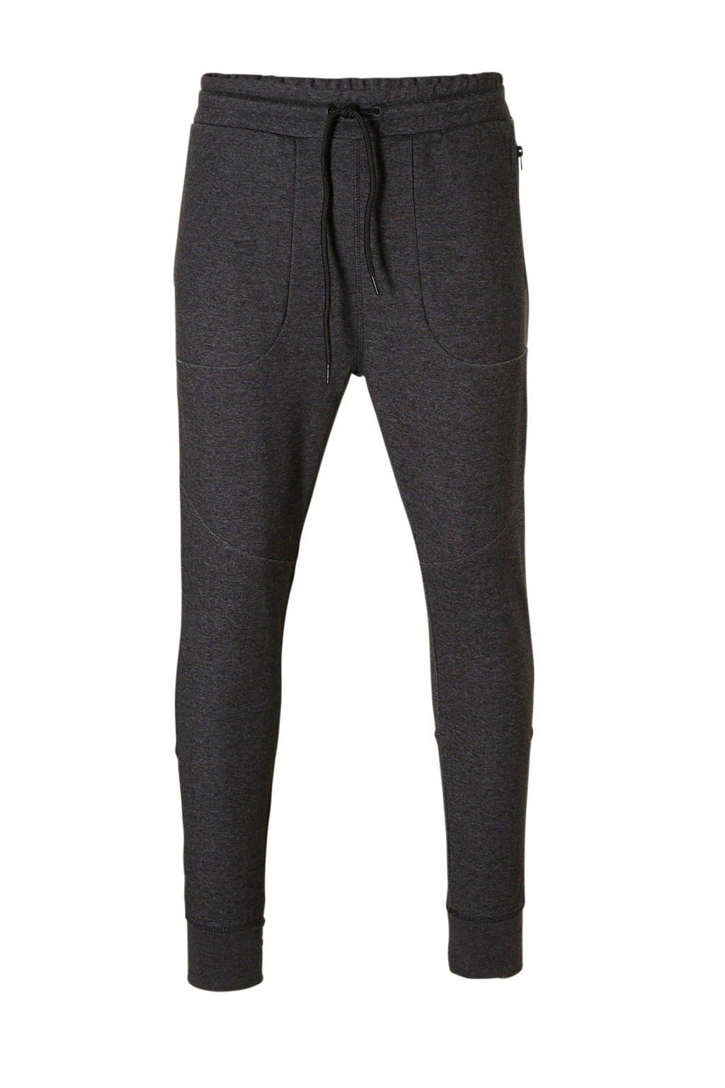 Jack & Jones Core Newwill sweatpants, Donkergrijs melange