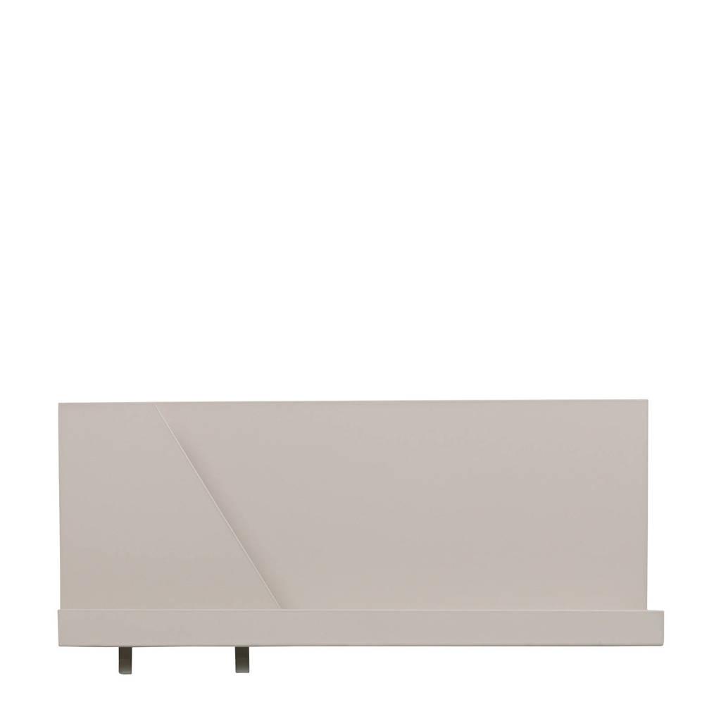 Woood wandplank Luca (50x23x10 cm), Grijs