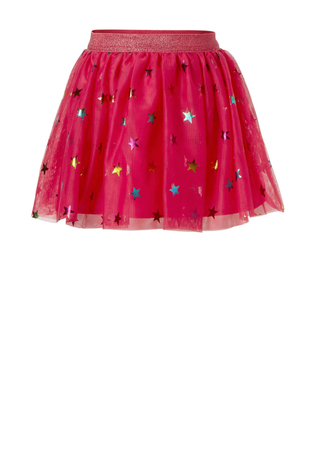 name it MINI tule rok met sterren fuchsia, Fuchsia