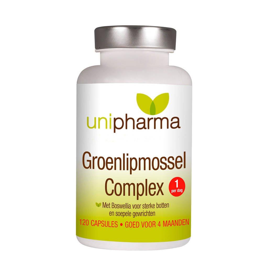 Unipharma Groenlipmossel complex - 120 capsules, 120 stuks