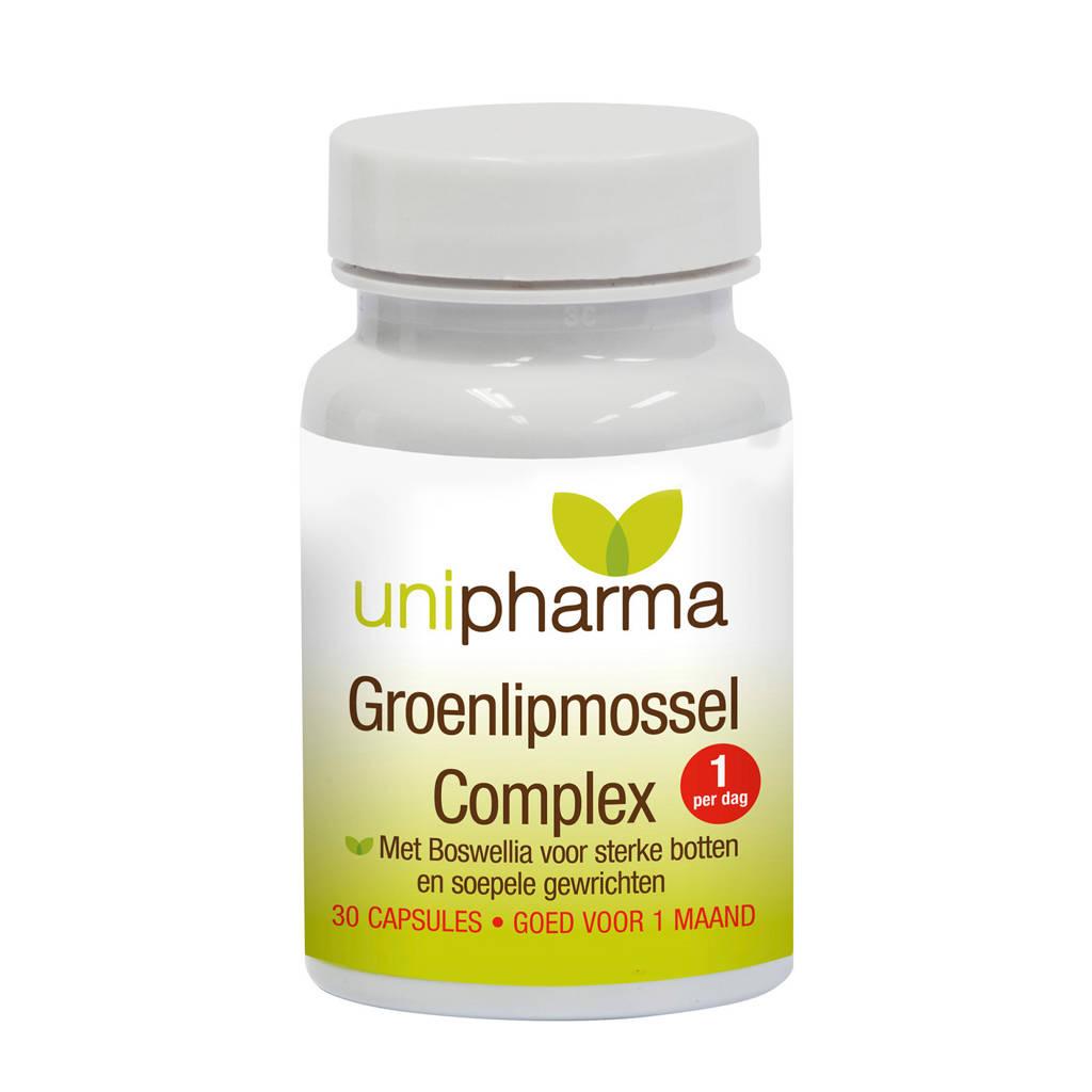 Unipharma Groenlipmossel complex - 30 capsules, 30 stuks