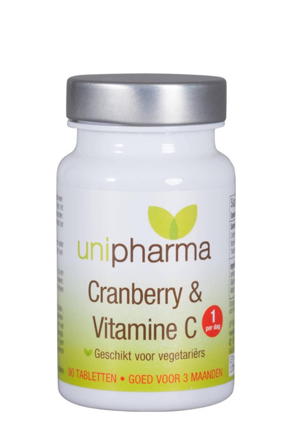 Unipharma Cranberry & Vitamine C - 90 tabletten