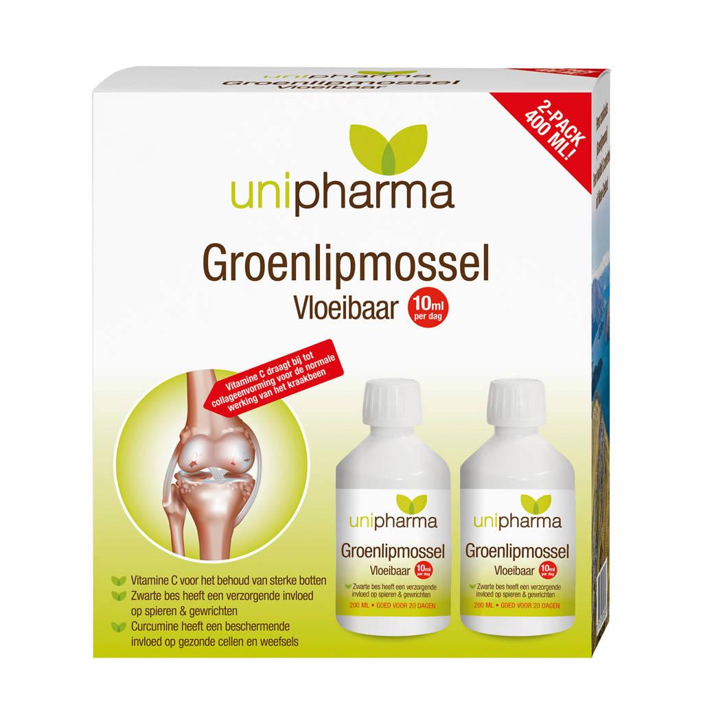 Unipharma Groenlipmossel vloeibaar - 400 ml