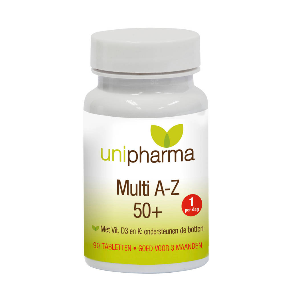 Unipharma multi A-Z 50+ - 90 tabletten