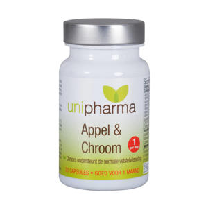 Slank appel & chroom - 30 capsules