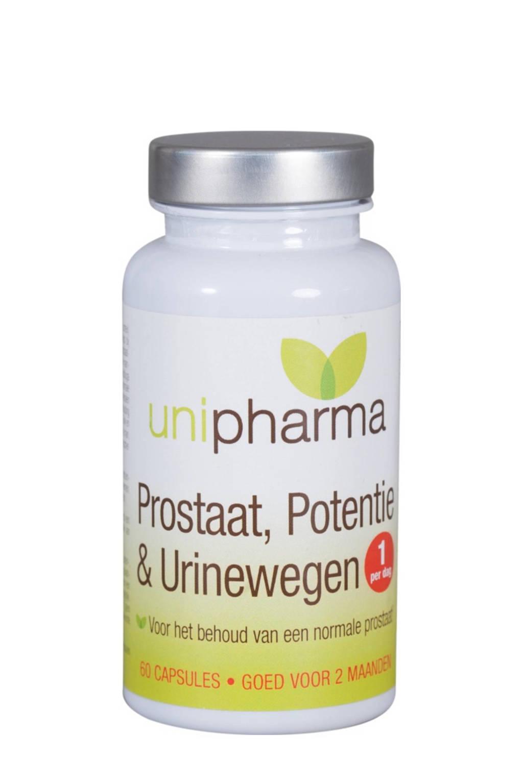 Unipharma Prostaat, Potentie & Urinewegen - 60 tabletten