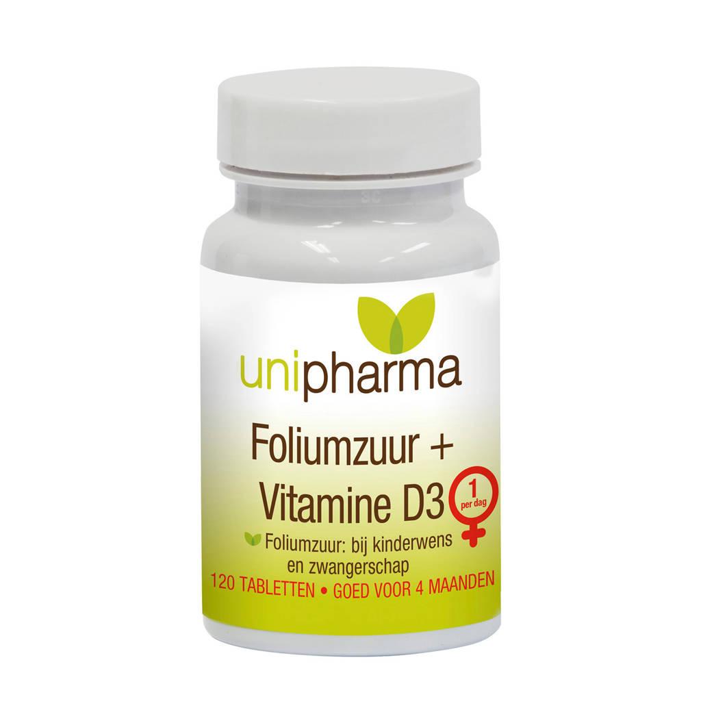 Unipharma Foliumzuur - 120 tabletten