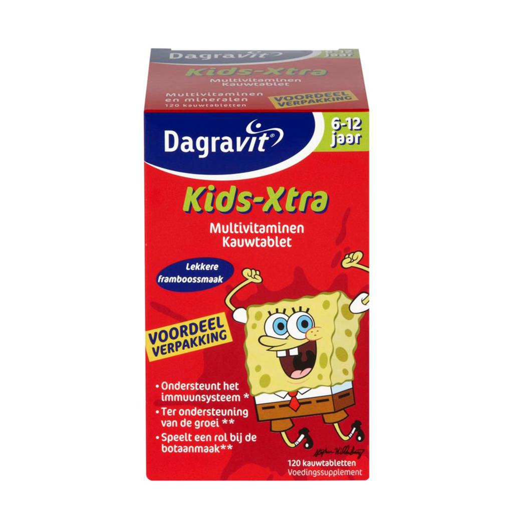 Dagravit Multi kids framboos 6-12 jaar - 60 stuks