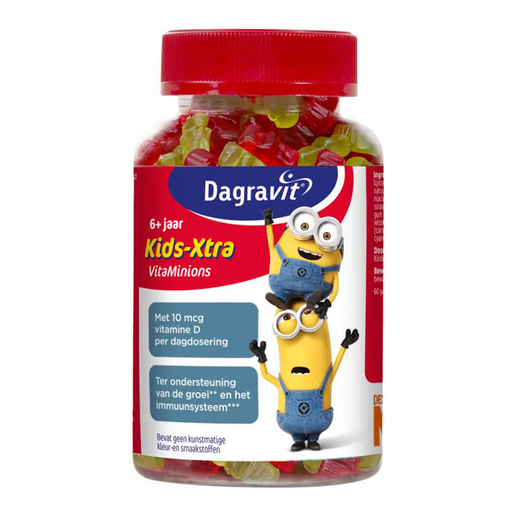 Dagravit Kids-Xtra Vitaminons - 60 stuks