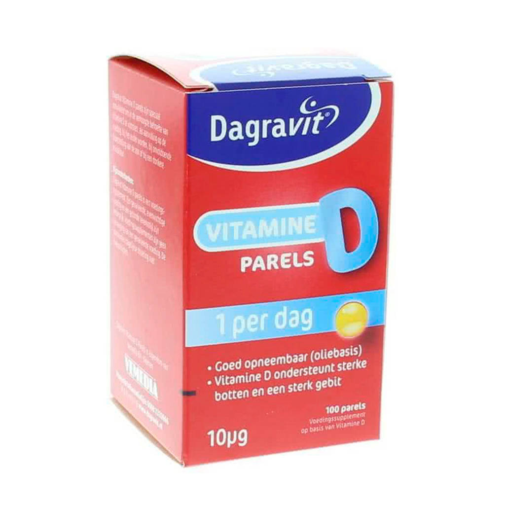 Dagravit Vitamine D parels - 100 parels