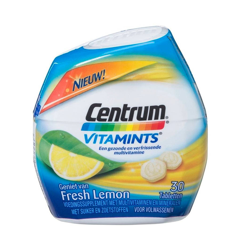 Centrum Vitamints lemon - 30 stuks, Citroen