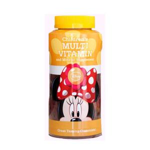 Multivitaminen Gummies Minnie - 60 stuks
