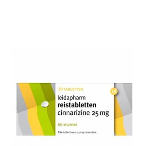 Leidapharm Reistabletten 25 mg - 10 tabletten