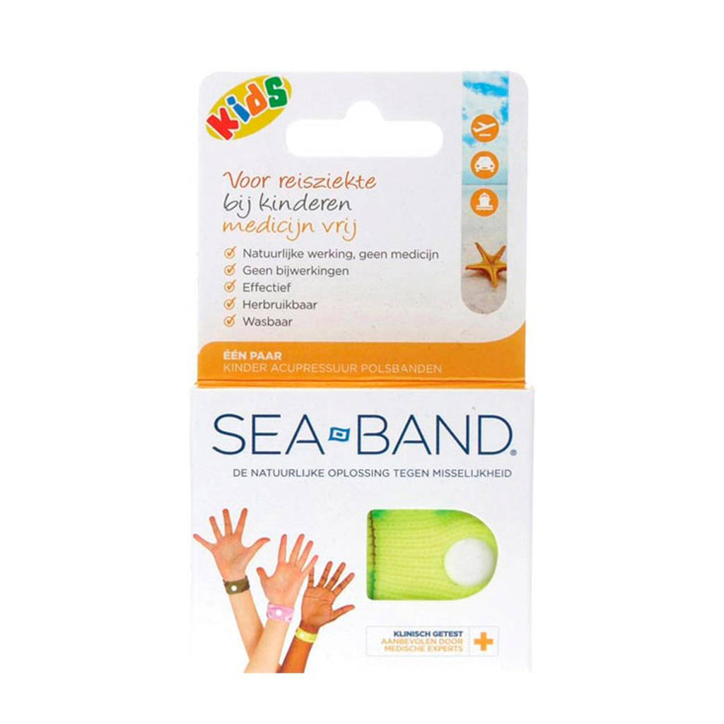 Sea Band polsband tegen wagenziekte - kinderen
