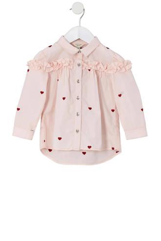 blouse met hartjes
