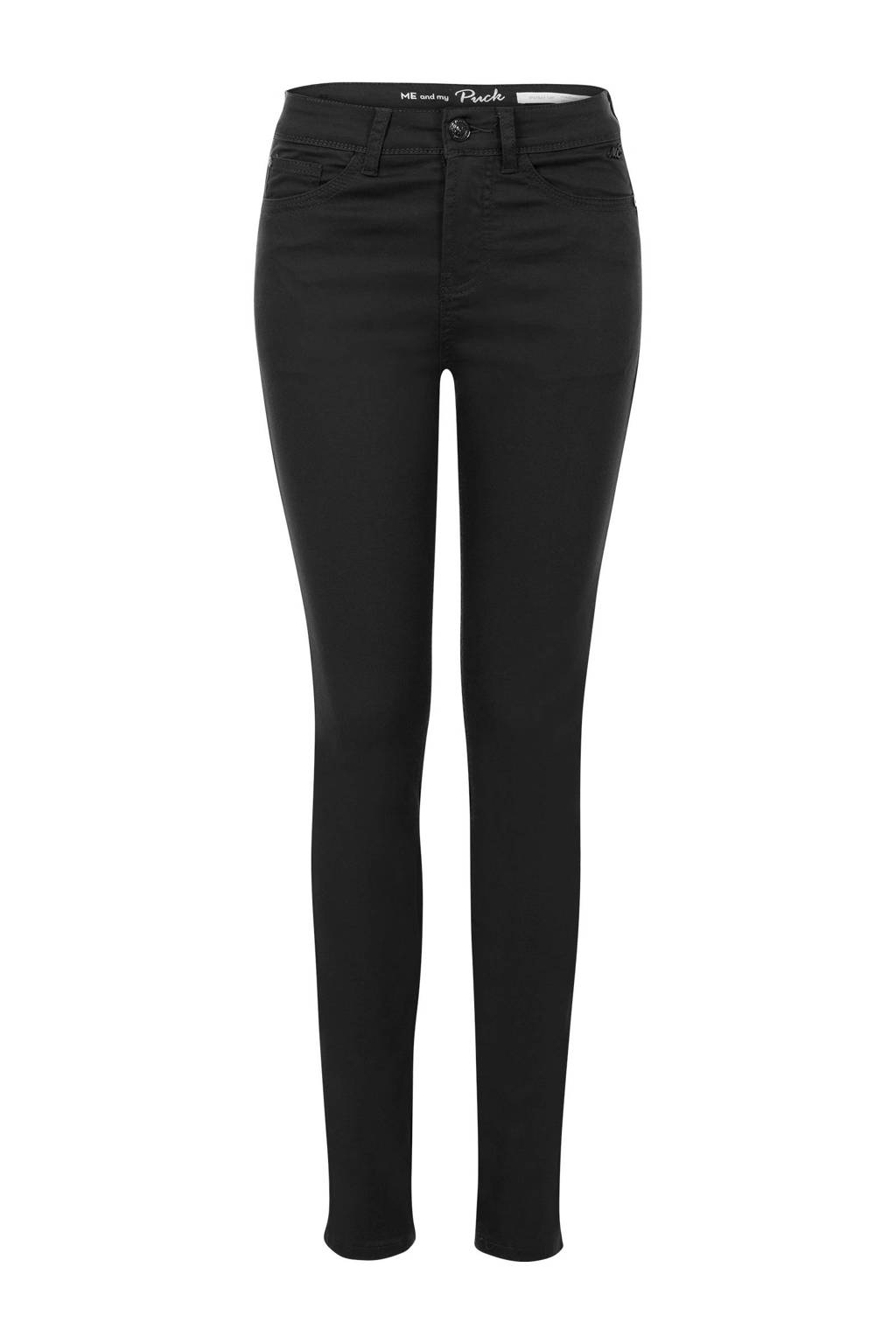 Miss Etam Regulier skinny fit broek 32 inch zwart, Zwart