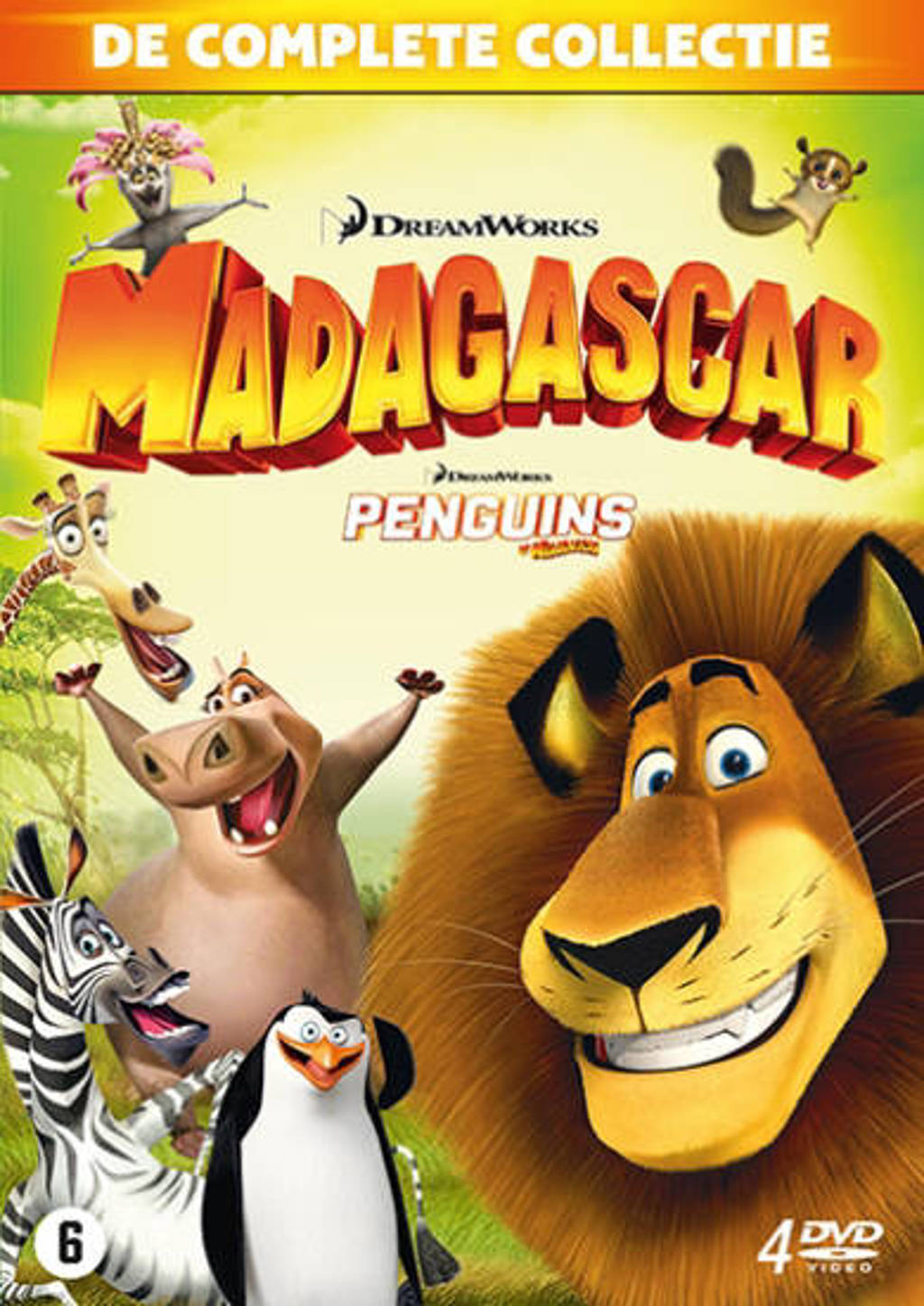 Madagascar 1-3 + Penguins (DVD)