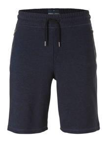 XL Angelo Litrico gemêleerde sweatshort donkerblauw