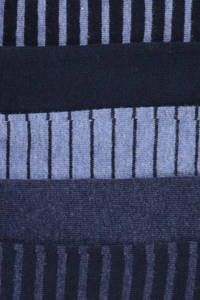 WE Fashion Fundamental sokken - set van 5, Blauw/marine