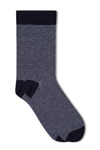 WE Fashion Fundamental sokken marine, Marine