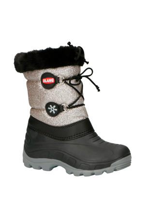 snowboots Patty antraciet/zilver