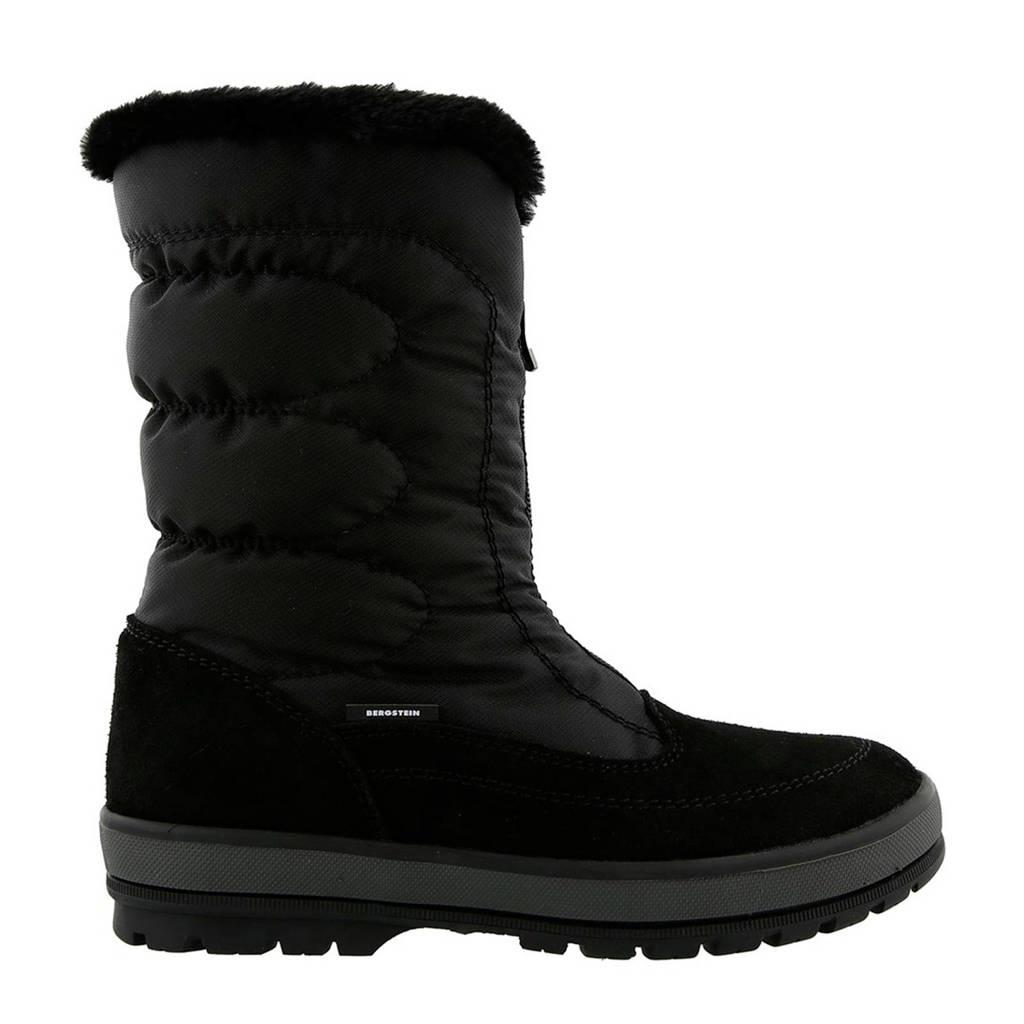 Bergstein snowboots zwart, Black