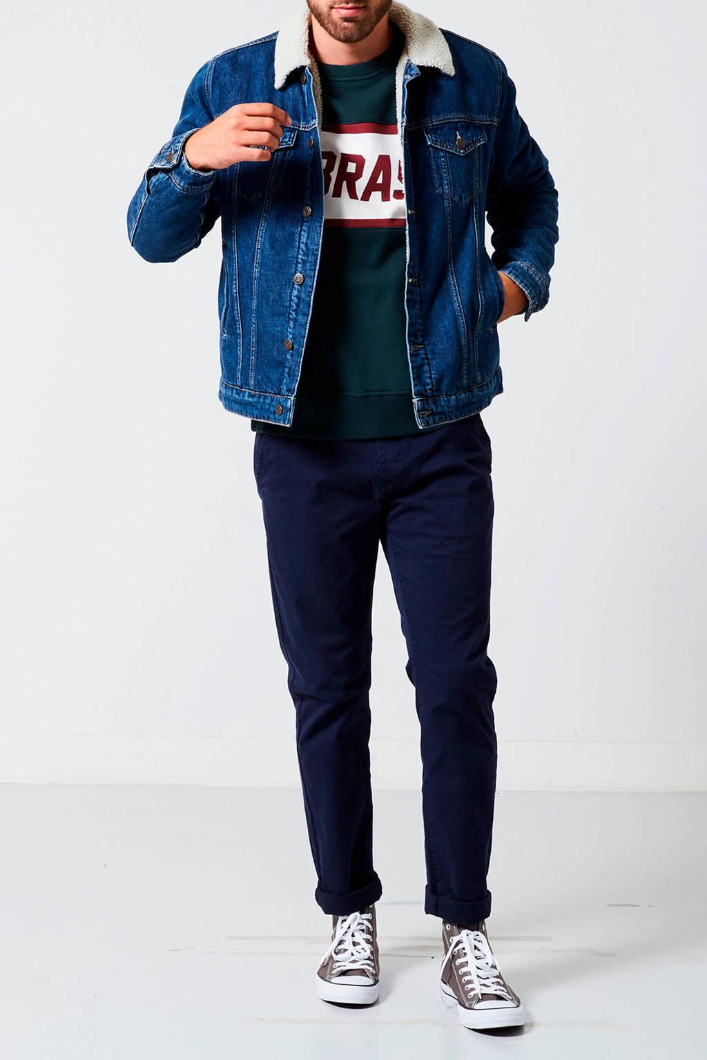 Spiksplinternieuw America Today gevoerde spijkerjas Justin | wehkamp BA-05