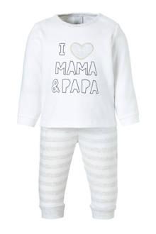 Baby Club   pyjama met tekstopdruk