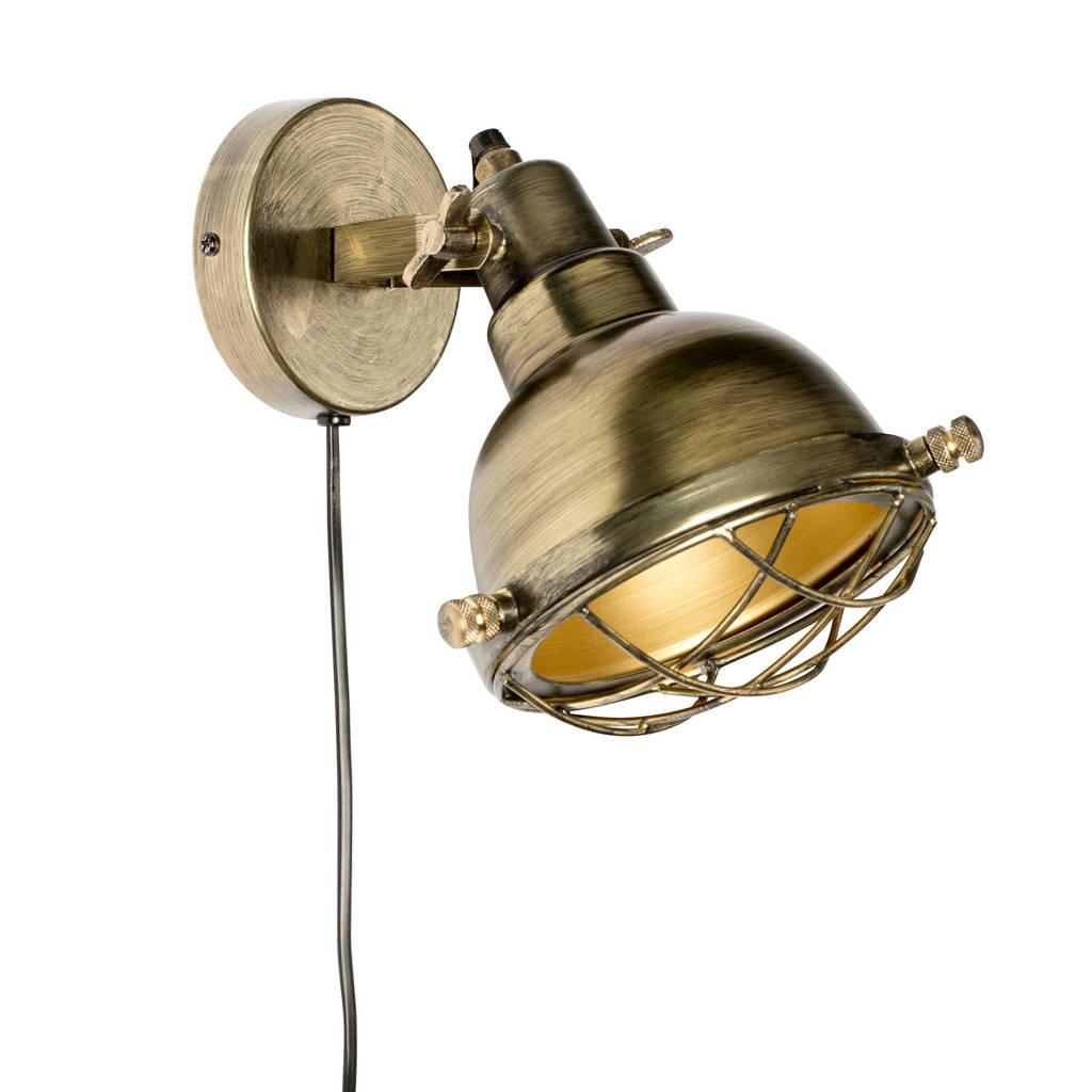 Zuiver wandlamp, Goud