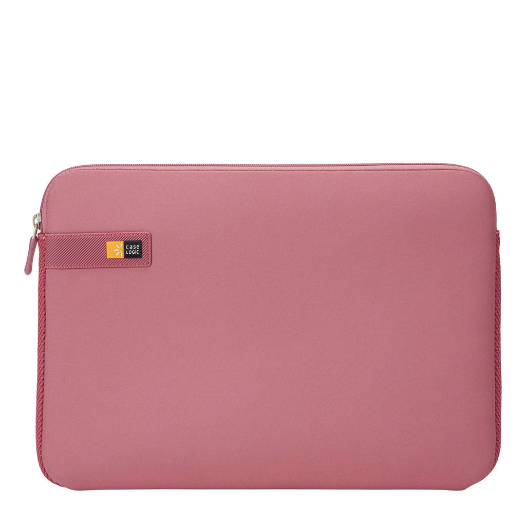 Case Logic LAPS-116 15,6 inch laptop sleeve, Rood/roze