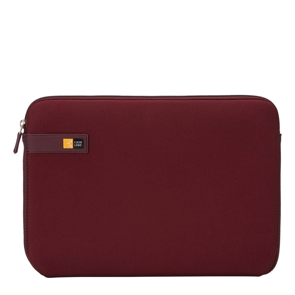 Case Logic LAPS-113 13,3 inch laptop sleeve, Bordeauxrood