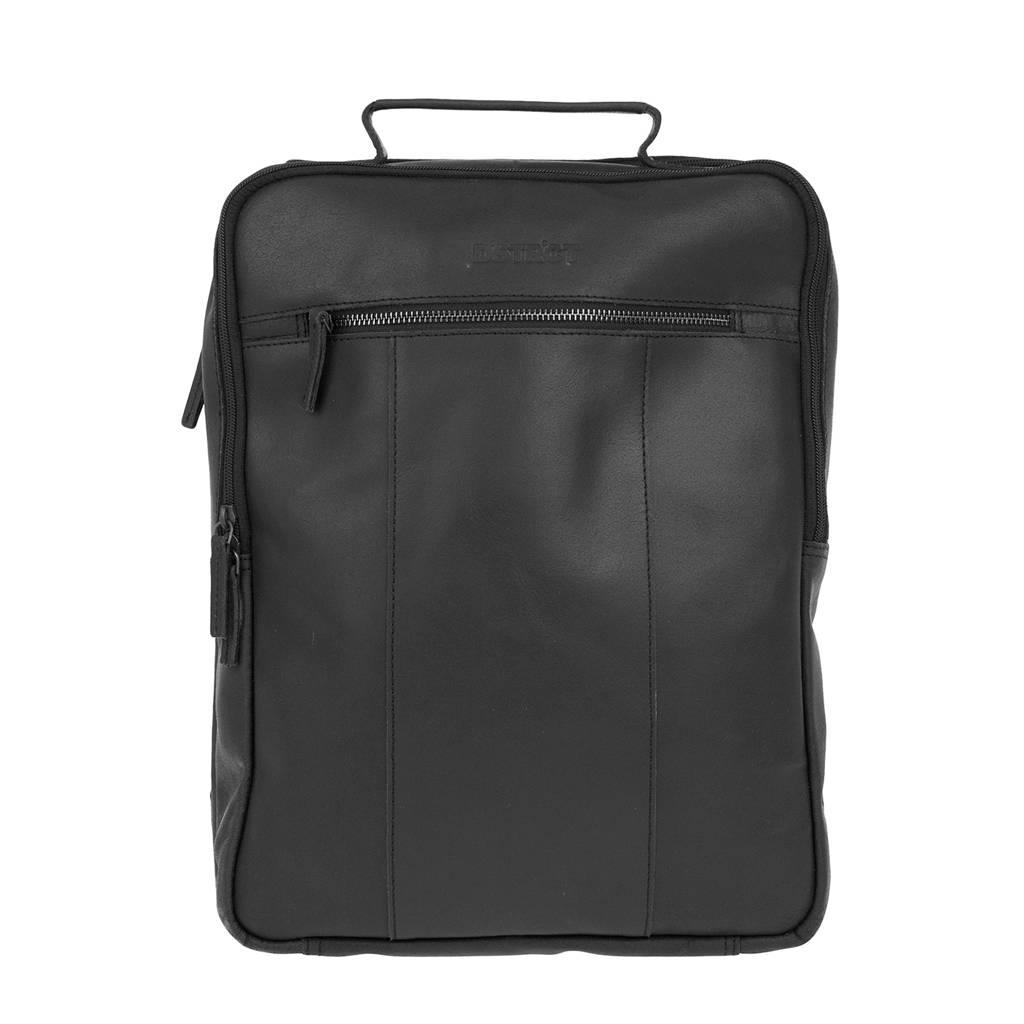 DSTRCT Riverside 15,6 inch laptoptas rugzak, Zwart