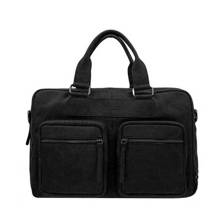 15,6 inch Wall Street Business leren laptoptas