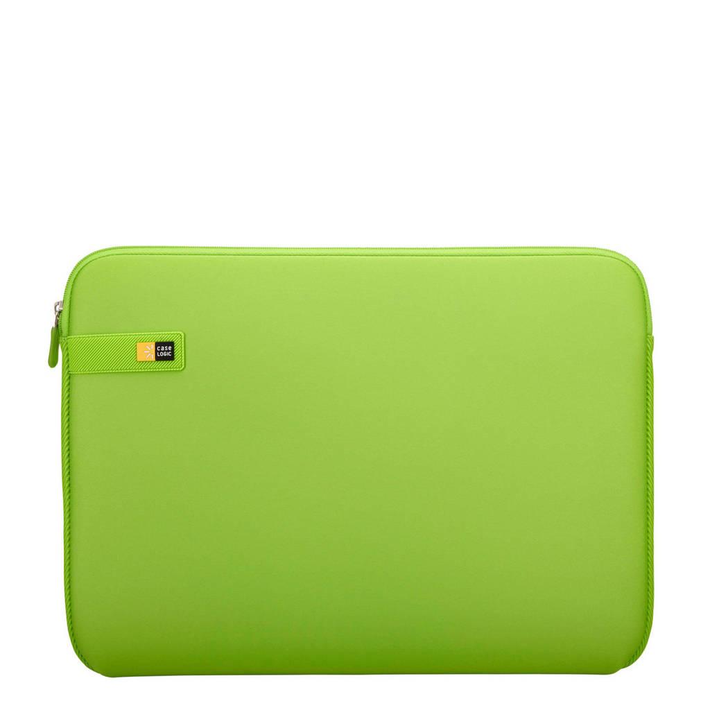 Case Logic LAPS-116 15,6 inch laptop sleeve, Limegroen