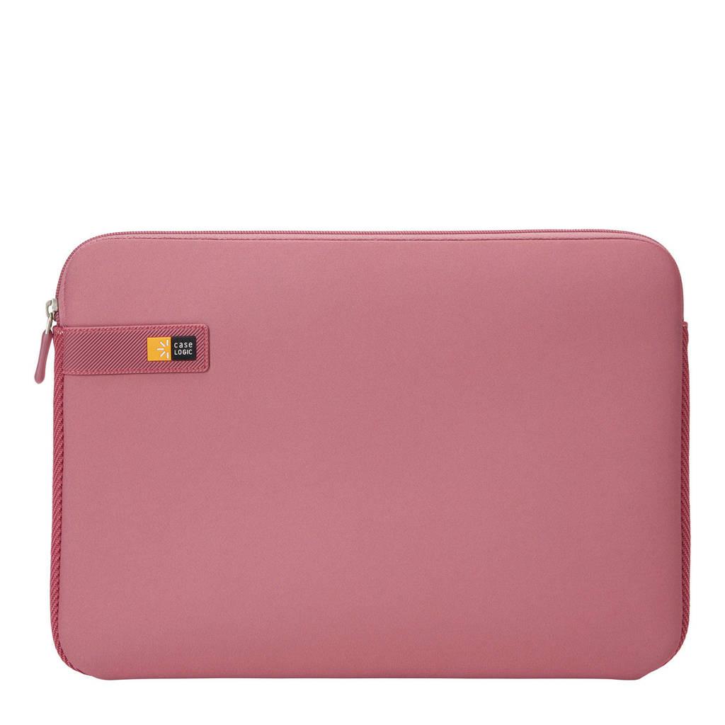 Case Logic LAPS-113 13,3 inch laptop sleeve, Rood/roze